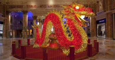 The Forum Shops Celebrates Chinese New Year With GIANT Illuminated Dragon & More