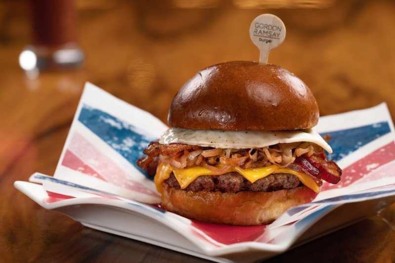 Brunch Burger at Gordon Ramsay Burger