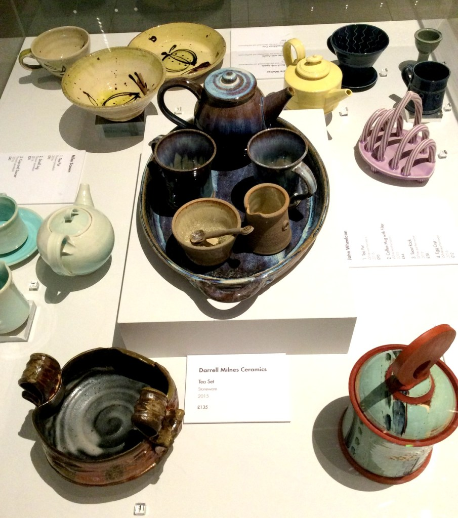 Contemporary Ceramics on display at the Millennium Galleries, Sheffield; from a travel blog by www.traveljunkiegirl.com