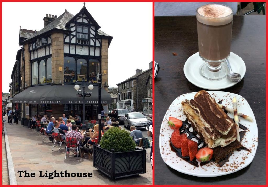 The Lighthouse Cafe Bar and Restaurant in Windermere, Lake District; from a travel blog by www.traveljunkiegirl.com