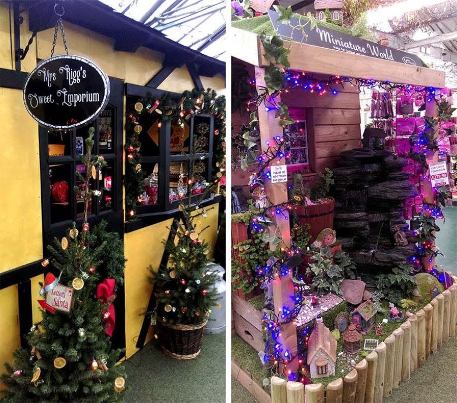 Christmas At Gordon Rigg Garden Centre West Yorkshire Travel Junkie Girl