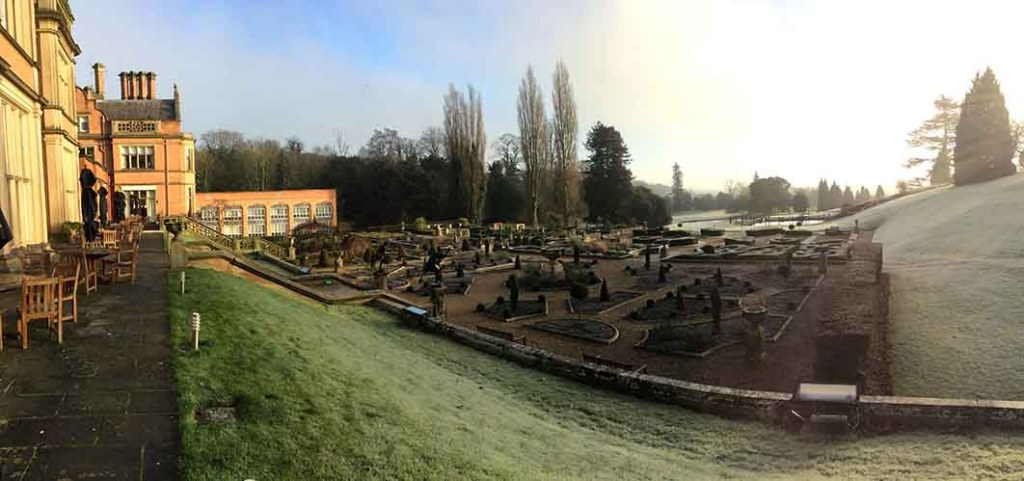 A Frosty Morning at The Welcombe Hotel and Spa near Stratford, Warwickshire; from a travel blog by www.traveljunkiegirl.com
