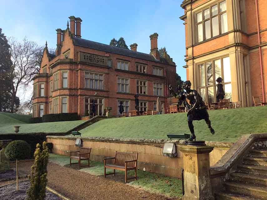 The Grounds of The Welcombe Hotel, Warwickshire; from a travel blog by www.traveljunkiegirl.com