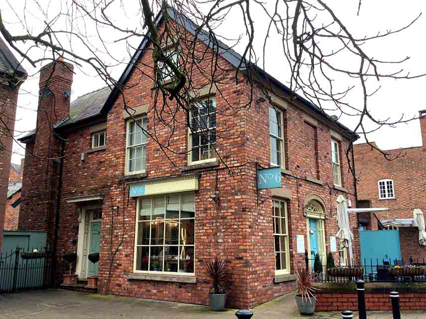 No. 6 Tea Room, Tarporley, Cheshire, UK; from a travel blog by www.traveljunkiegirl.com