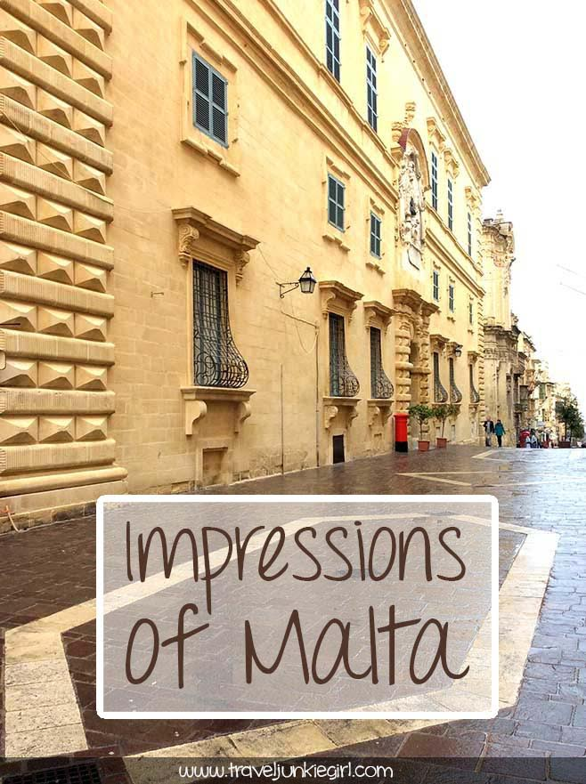 A Starting Guide to Malta: Valletta and Mdina; from a travel blog by www.traveljunkiegirl.com