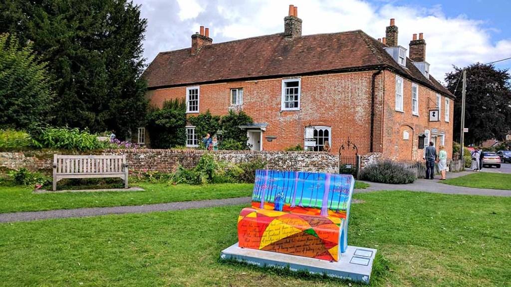 Jane Austen's House Museum in Chawton, Hampshire; from a cultural travel blog by www.traveljunkiegirl.com