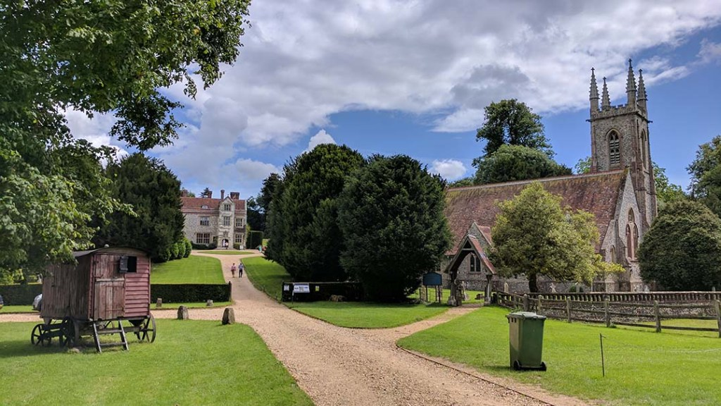 Chawton House Library & Church, Hampshire; from a cultural travel blog by www.traveljunkiegirl.com