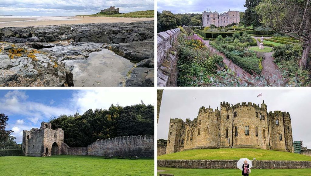 Great Northumberland Castles at Bamburgh, Chillingham, Etal and Alnwick, England; from a cultural travel blog by www.traveljunkieigirl.com