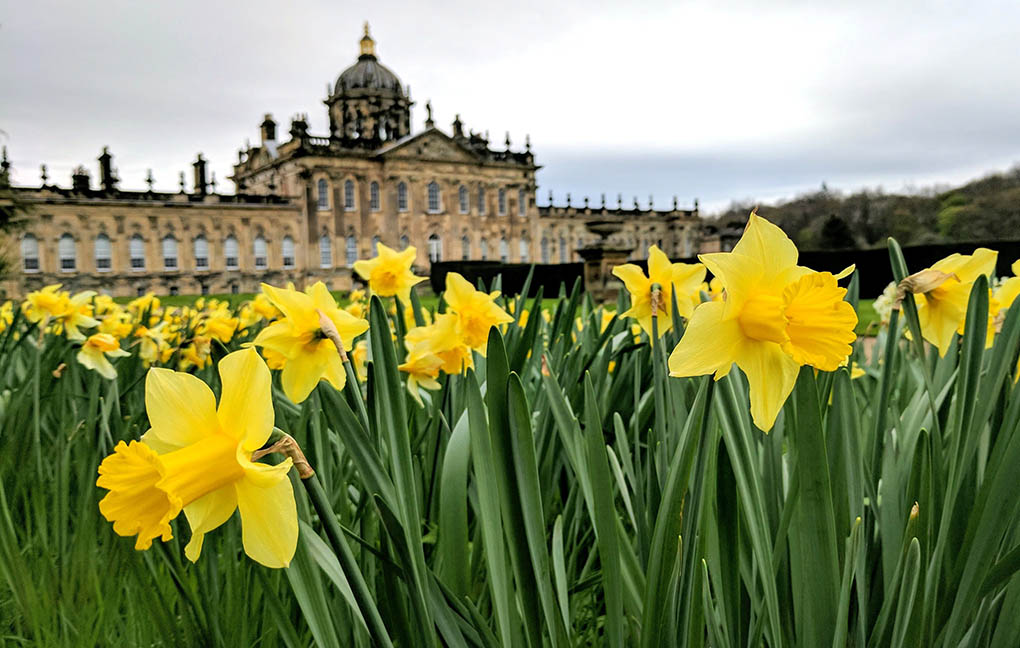 Castle Howard in North Yorkshire and a Historic Houses Association Property which you can visit free with HHA membership; from a cultural travel blog by www.traveljunkiegirl.com