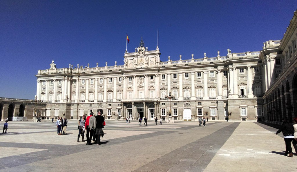 Palacio Real in Madrid; from a cultural travel blog by www.traveljunkiegirl.com