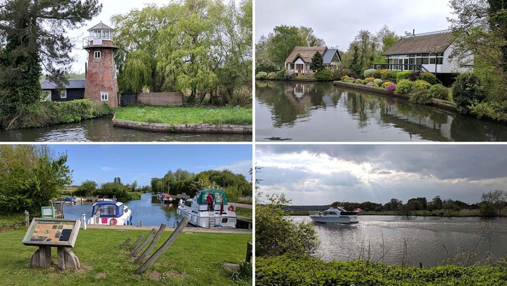 The Norfolk Broads, one of the UK's 15 National Parks; from a travel blog by www.traveljunkiegirl.com