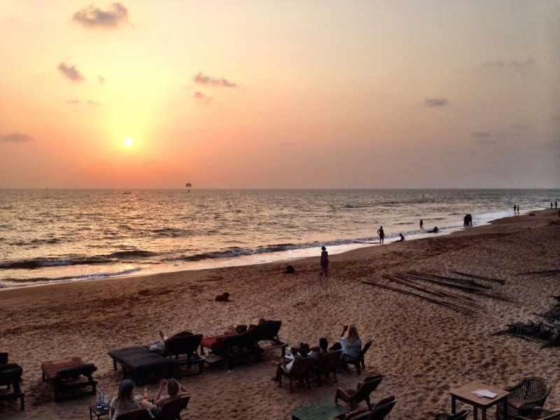 شاطىء اشويم في غوا