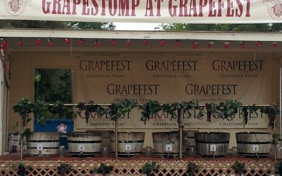 Grape Stomp at Grapefest 2012