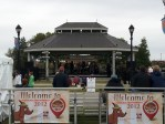 The Southlake Town Center Bandstand during Oktoberfest