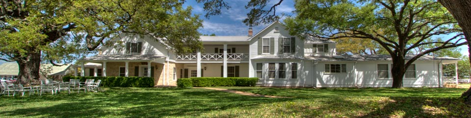 The Western White House - the ranch home of President Lyndon B. Johnson is an easy drive from Austin.