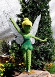 Tinkerbell welcomes visitors to her Butterfly Garden