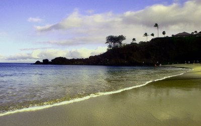West Maui's Ka'anapali Beach at Black Rock