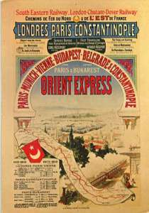 Orient Express Poster_Public Domain_Wikicommons