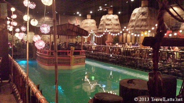 Tonga Room Band Barge