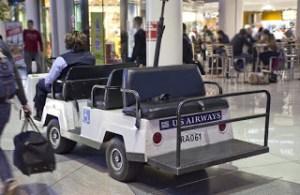 US Airways Courtesy Cart