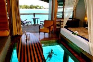 Overwater Bungalow - Le Meridien Bora Bora