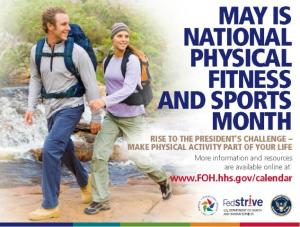 National Fitness Month Flyer