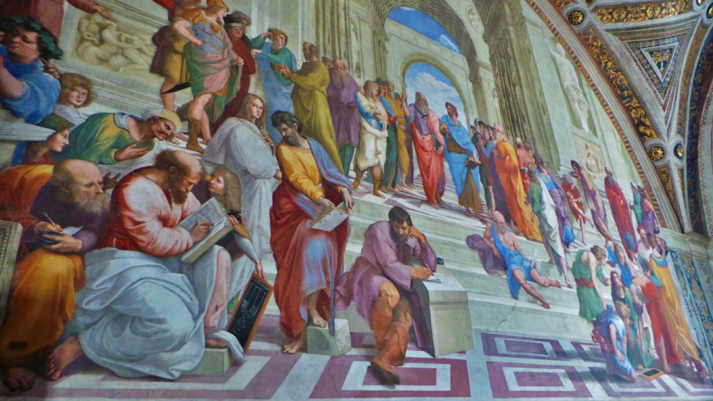 Rafael's School of Athens - Birth & Death of the Renaissance via @TravelLatte.net
