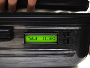 Photo of TUL Self Weighing Luggage Display