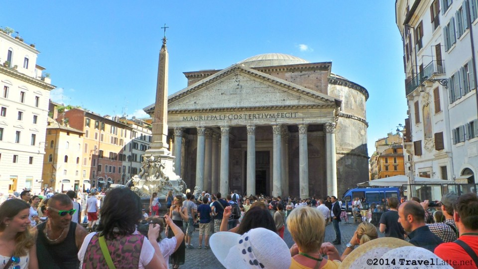 Approaching the Pantheon