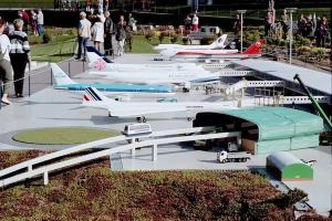 Photo: Model airport display