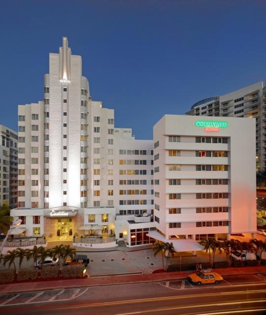 Photo: Courtyard Cadillac Miami Beach Hotel
