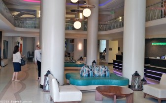 Photo: Lobby at the Courtyard Cadillac Hotel