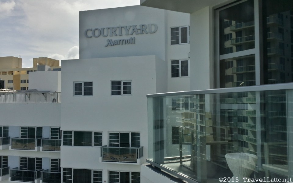 Photo: Courtyard Marriott sign