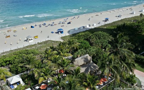 Photo: View from the room at Courtyard Cadillac Hotel