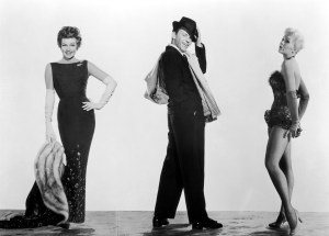 Photo: Rita Hayworth, Kim Novak, Frank Sinatra in Pal Joey