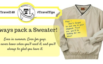 #Travel140 Travel Tips via @TravelLatte.net