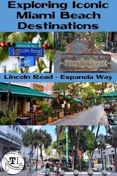 Exploring Iconic Miami Beach Destinations - Lincoln Road and Espanola Way Pin