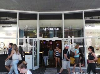 Exploring Iconic Miami Beach Destinations - Nespresso Boutique on Lincoln Road