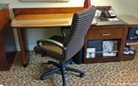 We appreciated the well lit work desk at the Atlanta Marriott Buckhead.