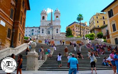 Roman Renovations at the Spanish Steps