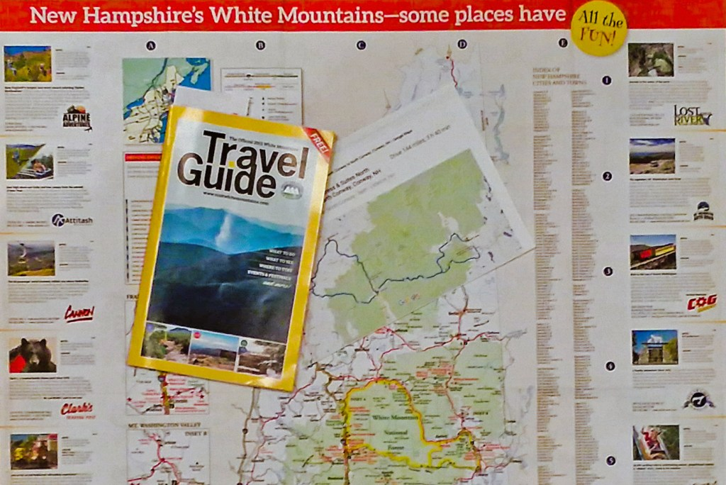 White Mountains Travel Guide and Map Guide via @TravelLatte.net