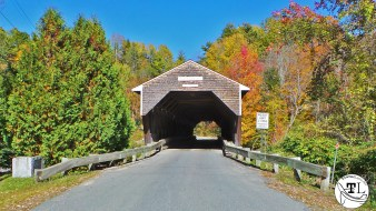Bath-Swiftwater Covered Bridge on the Kancamagus Highway