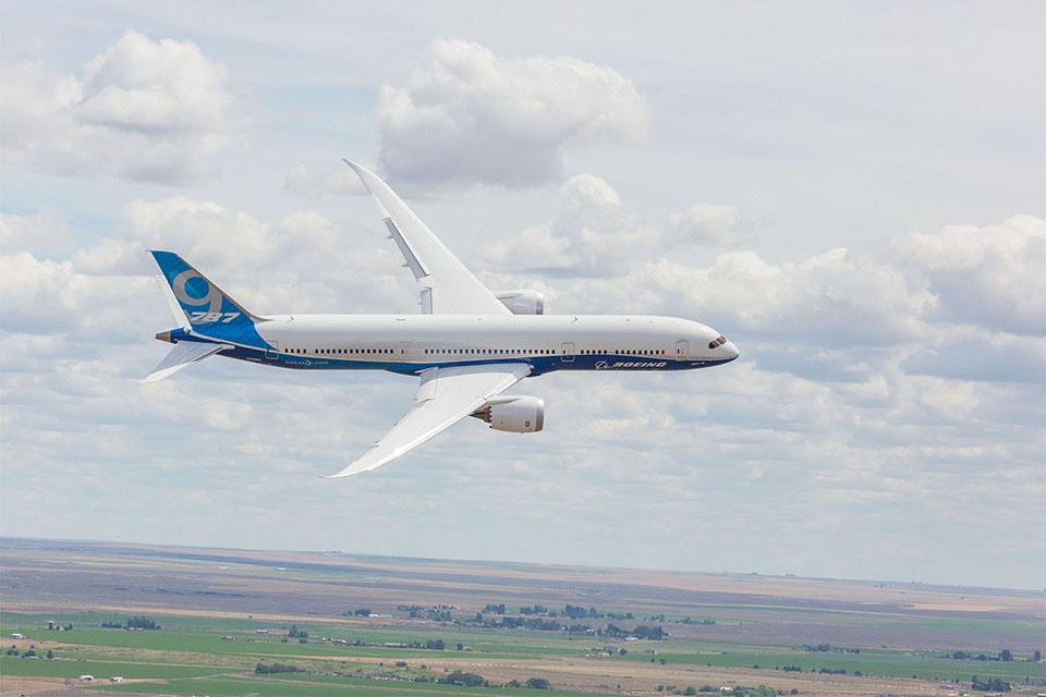 Photo: Boeing 787-900