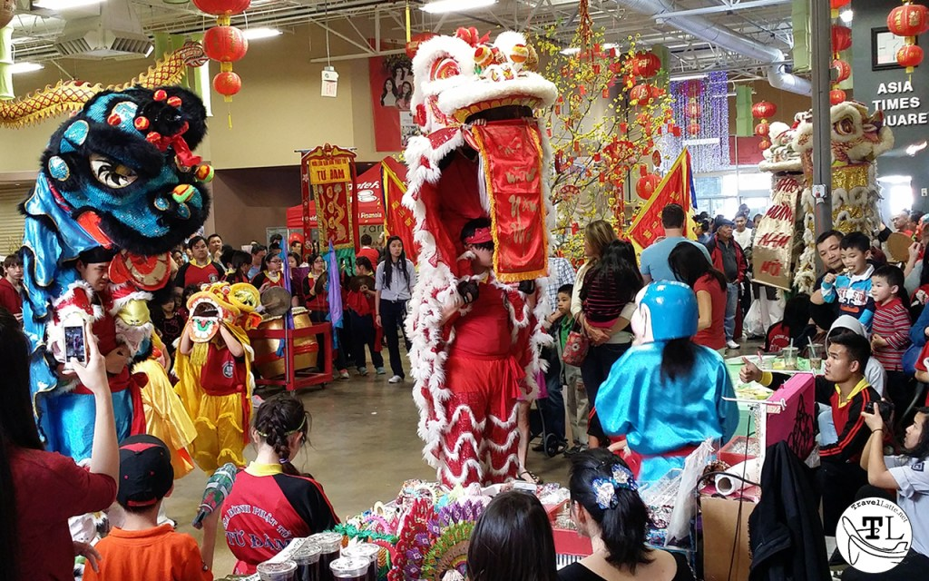 Tet in Texas: Chinese New Year at Asia Times Square - Blessings from the Lion via @TravelLatte.net