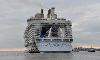 Royal Caribbean's Harmony of the Seas, via @TravelLatte.net