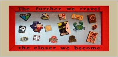 A travel magnet souvenir board, via @TravelLatte.net