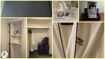 Amenities at the Inn at Darden via @TravelLatte.net