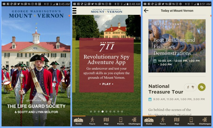 The Mount Vernon App - Touring Mount Vernon via @TravelLatte.net