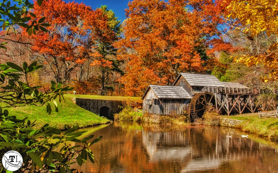 Autumn Color Across America - Mabry Mill via @TravelLatte.net