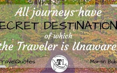 Monday Travel Motivation / Travel Quotes via @TravelLatte.net